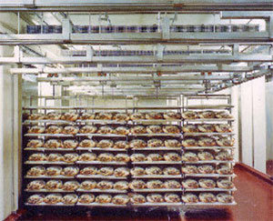 meat on rack
